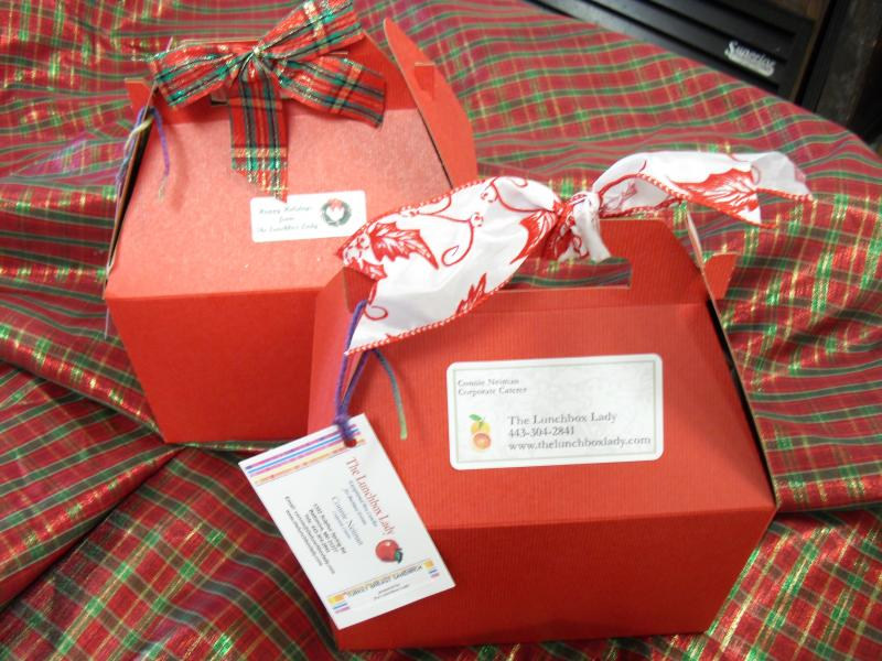 Christmas Box Lunches