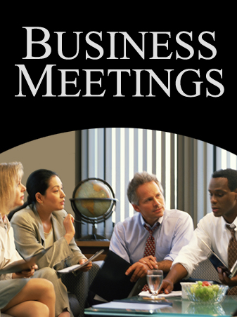 Business meeting planning